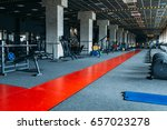 gym nobody  empty fitness club | Shutterstock . vector #657023278