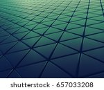 triangle background design 3d... | Shutterstock . vector #657033208