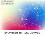 vector background of triangles  ... | Shutterstock .eps vector #657039988