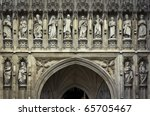 Detail Of Westminster Abbey's...