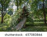 nowa huta  krakow  poland  ... | Shutterstock . vector #657083866