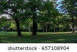 park in vienna | Shutterstock . vector #657108904