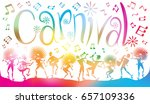 colorful abstract illustration... | Shutterstock .eps vector #657109336