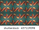 abstract raster seamless... | Shutterstock . vector #657119098
