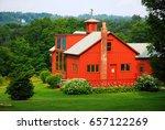 Small photo of Stockbridge, MA, USA July 15 Norman Rockwell's Studio is nestled in the Berkshire Mountains of Massachusetts