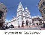 cuenca  ecuador   february 13 ...   Shutterstock . vector #657132400