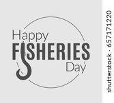 international fisheries day... | Shutterstock . vector #657171220
