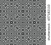 engraving seamless pattern. the ... | Shutterstock .eps vector #657182110