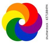 logo template photo studio... | Shutterstock .eps vector #657188494