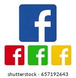 valencia  spain    june  08 ...   Shutterstock . vector #657192643