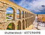 Segovia  Spain At The Ancient...
