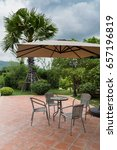 Outdoor Table And Chair Near...