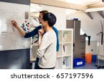tech start up founders working | Shutterstock . vector #657197596