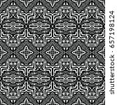engraving seamless pattern. the ... | Shutterstock .eps vector #657198124