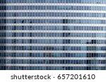 a close view of a high rise... | Shutterstock . vector #657201610