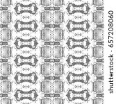 black and white mosaic pattern... | Shutterstock . vector #657208060