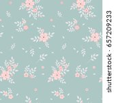 fashionable pattern in small... | Shutterstock . vector #657209233