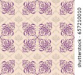 abstract arabesque background... | Shutterstock .eps vector #657210010