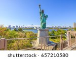 Urban Landscape Of Statue Of...