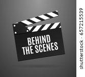 movie slapstick vector... | Shutterstock .eps vector #657215539
