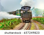 Steam Narrow Gauge Train With...