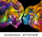 colors in us series. interplay... | Shutterstock . vector #657267628