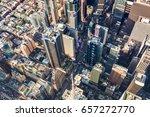 new york   july 02 2016  aerial ... | Shutterstock . vector #657272770