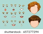 faceless characters and...   Shutterstock .eps vector #657277294