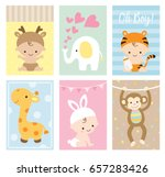vector illustration of baby... | Shutterstock .eps vector #657283426