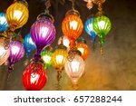chandeliers background  | Shutterstock . vector #657288244