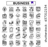 business icons vector...
