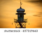 The First Mosque Tower On The...
