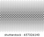halftone circles gradient... | Shutterstock .eps vector #657326140