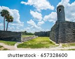 st. augustine  florida at the...   Shutterstock . vector #657328600