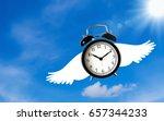 time management concept ... | Shutterstock . vector #657344233