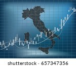 italian finance and economy | Shutterstock .eps vector #657347356
