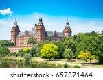 frankfurt johannisburg palace ...   Shutterstock . vector #657371464