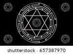 star background | Shutterstock .eps vector #657387970
