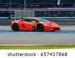 may  21 2017  blancpain gt... | Shutterstock . vector #657417868