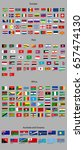 flags of the world. europe ... | Shutterstock .eps vector #657474130