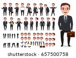 businessman or office male... | Shutterstock .eps vector #657500758