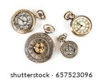 Vintage Clock Watch Pendant...