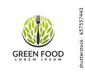 food studio vector logo concept.... | Shutterstock .eps vector #657557443