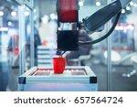 3d printing machine. | Shutterstock . vector #657564724