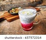 falooda indian dessert | Shutterstock . vector #657572314