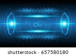 abstract technology background... | Shutterstock .eps vector #657580180