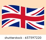 flag of the great britain | Shutterstock .eps vector #657597220
