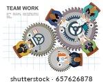 flat design illustration... | Shutterstock .eps vector #657626878