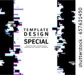 template design  vertical... | Shutterstock .eps vector #657631450