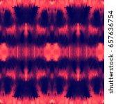 vector tie dye seamless pattern.... | Shutterstock .eps vector #657636754